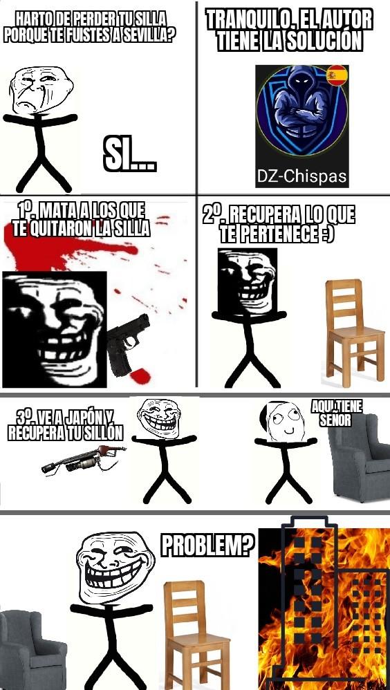Que troll :) - meme