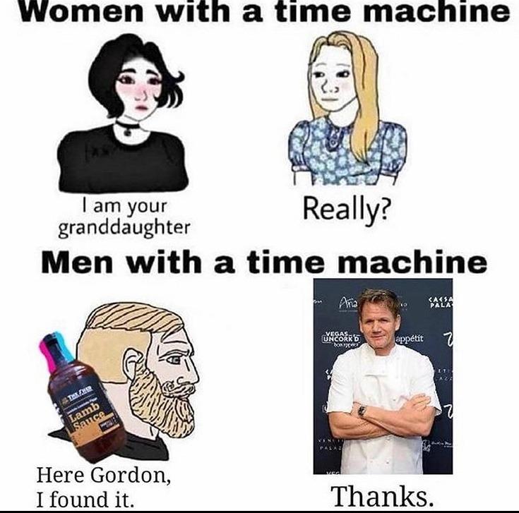 the lamb sauce - meme