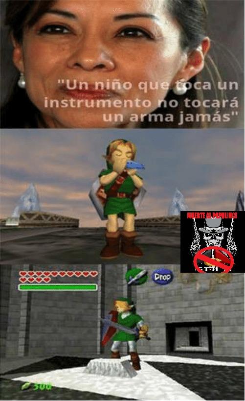 link sos un loquillo - meme