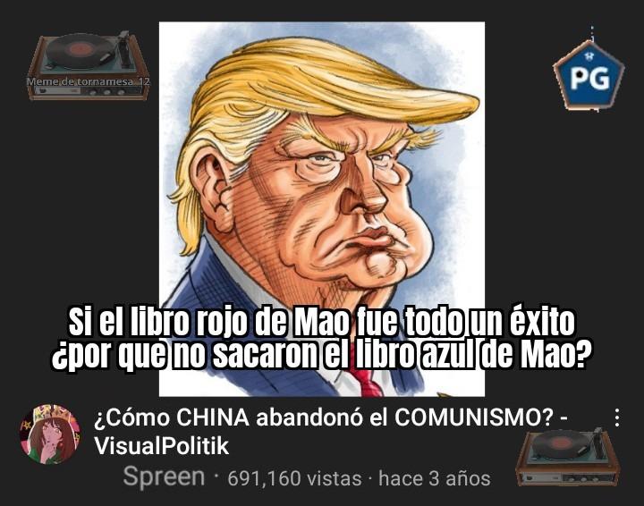 Jaque mate Mao - meme
