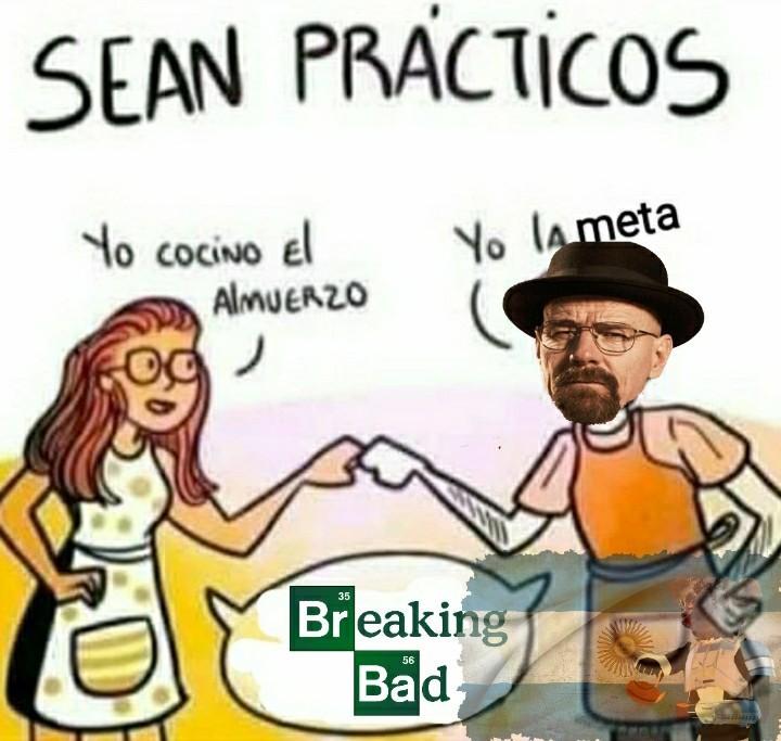 *introduzca intro de breaking bad* - meme