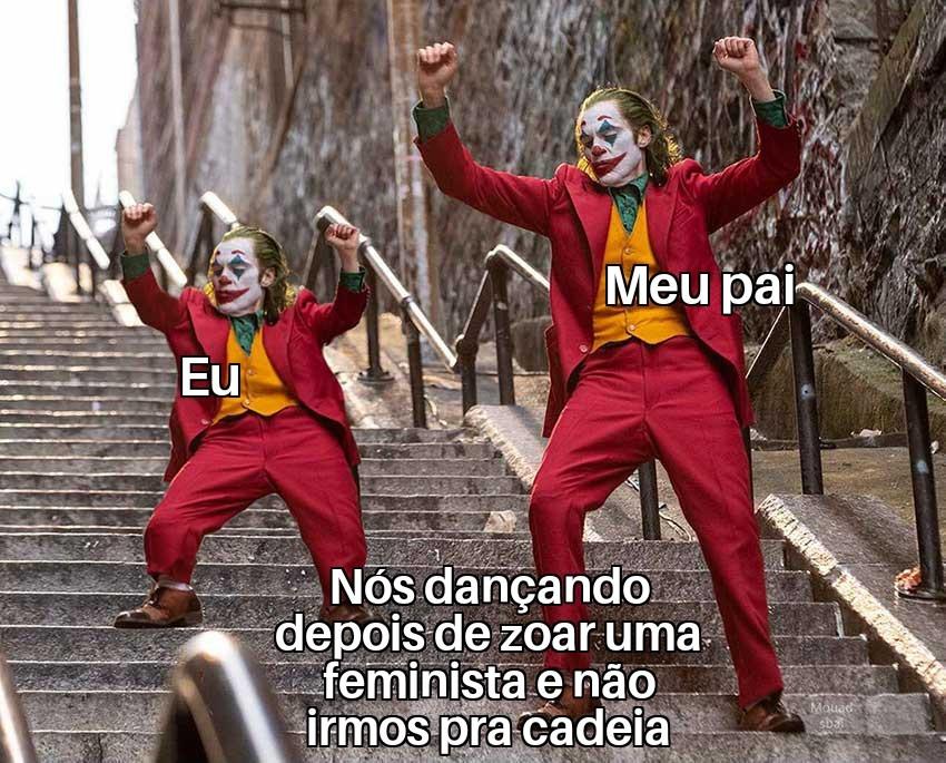 Zoar feminista? - meme