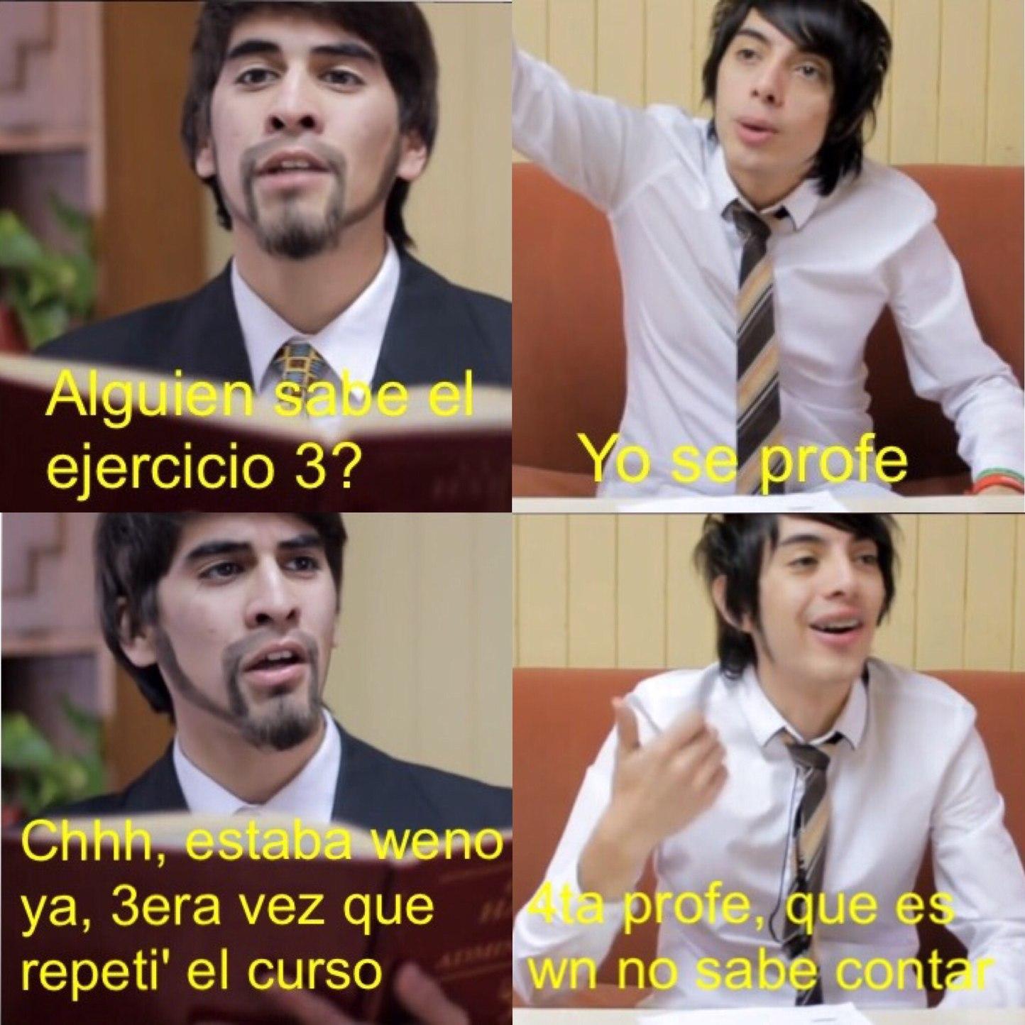 Tipico Chileno (orden izquerda derecha, izquerda derecha) - meme