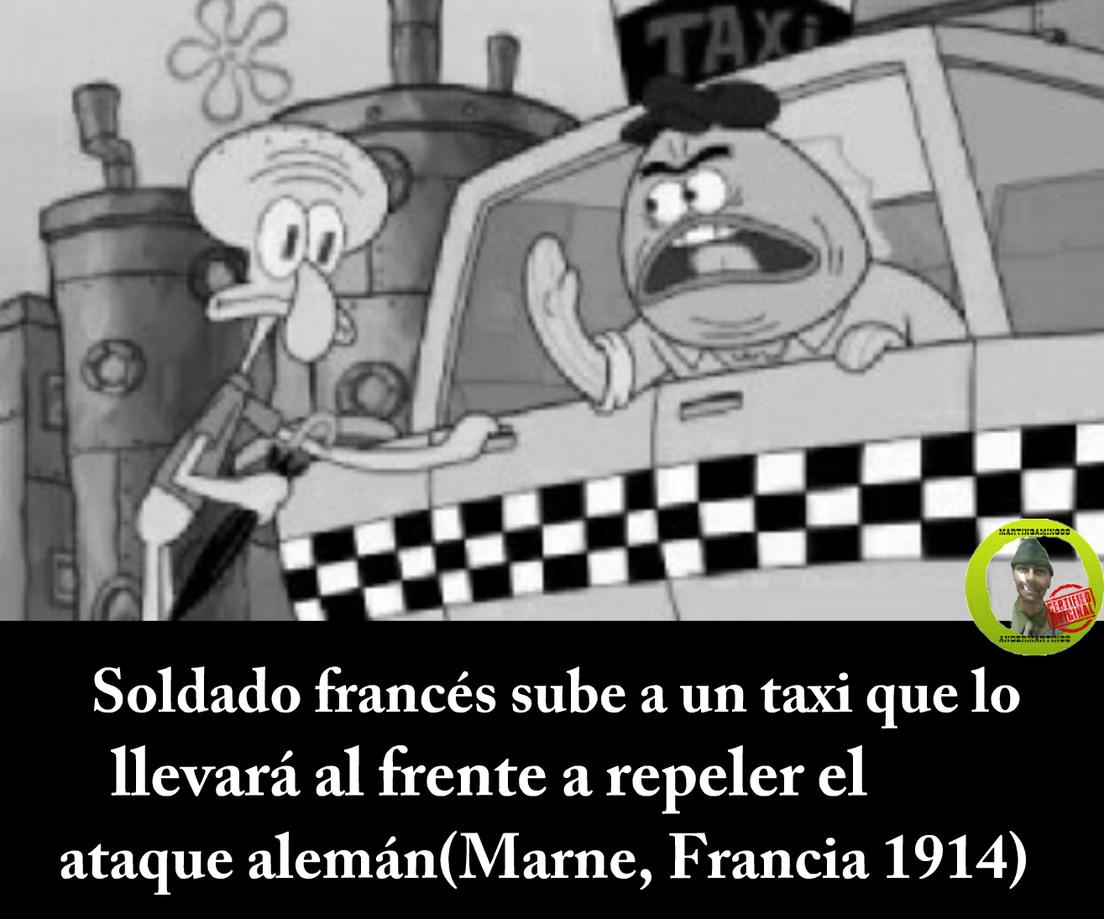 El milagro de Marne - meme