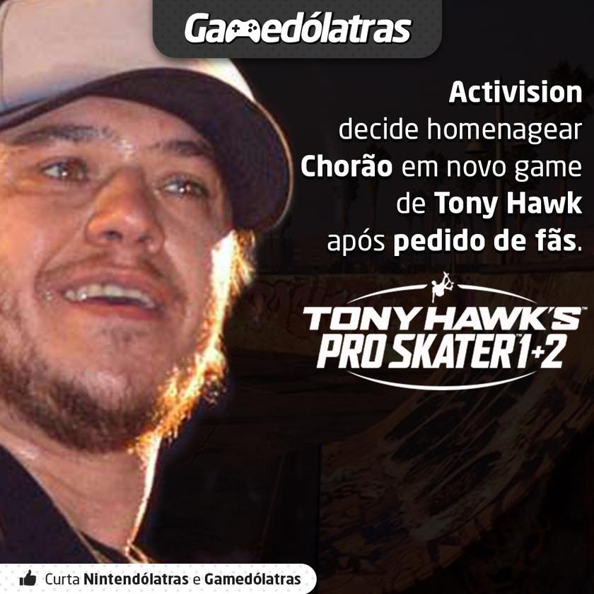 Tony Hawk's Pro Skater 1-2 (News) - meme