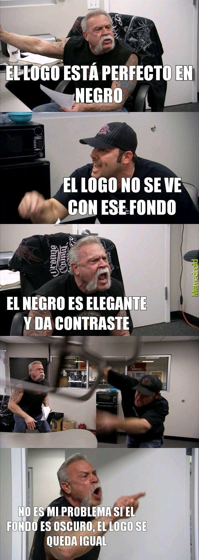 Cosas de diseñadores - meme