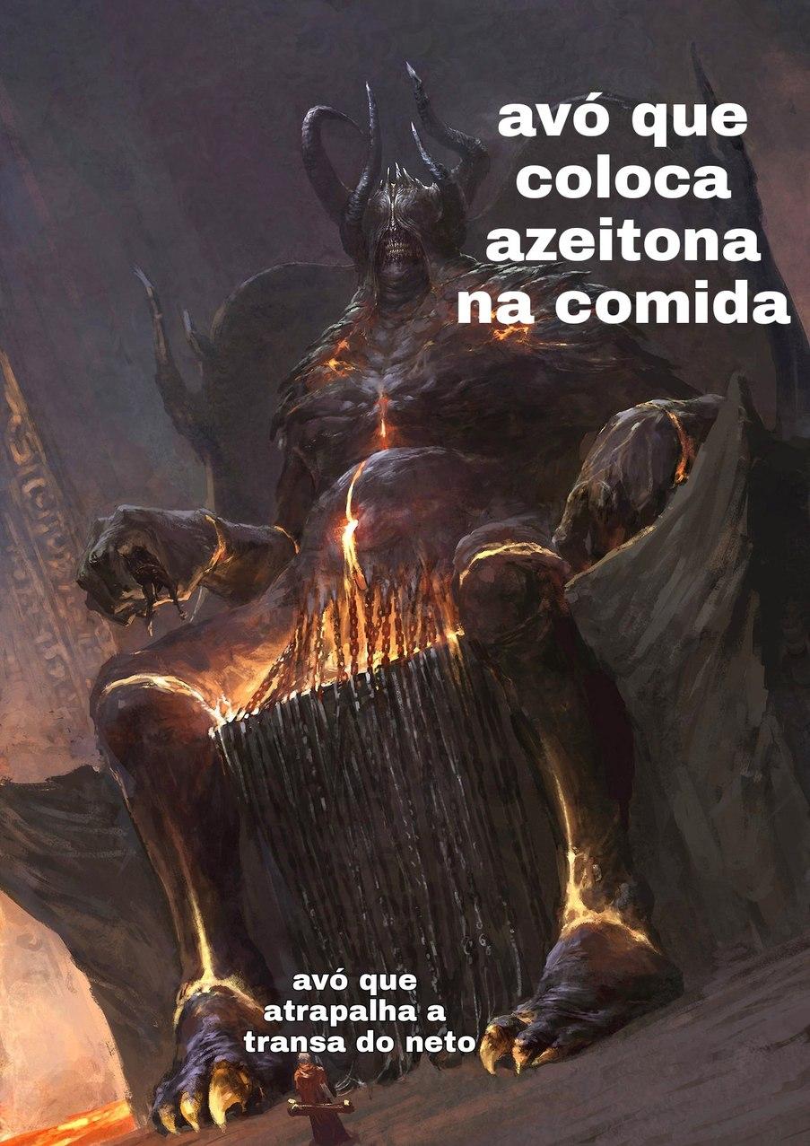 Essa é o demônio em pessoa - meme