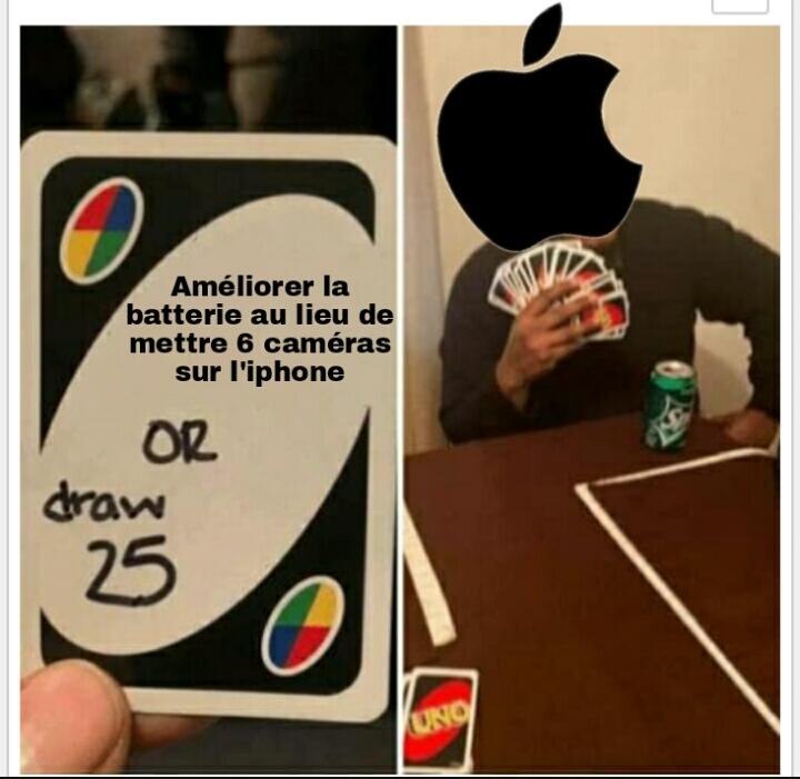 Apple, apple, apple - meme