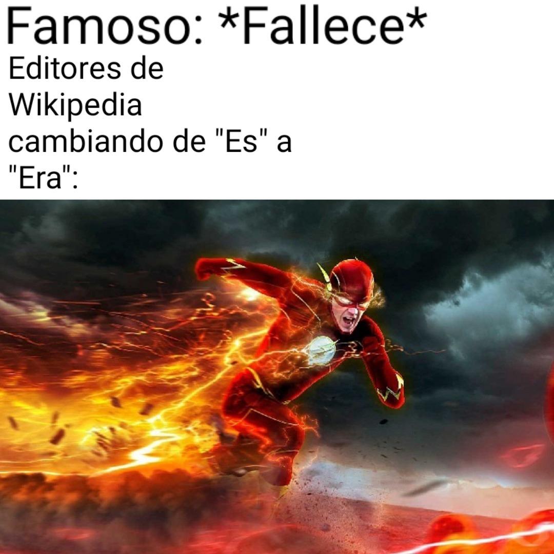 Siempre Wikipedia - meme