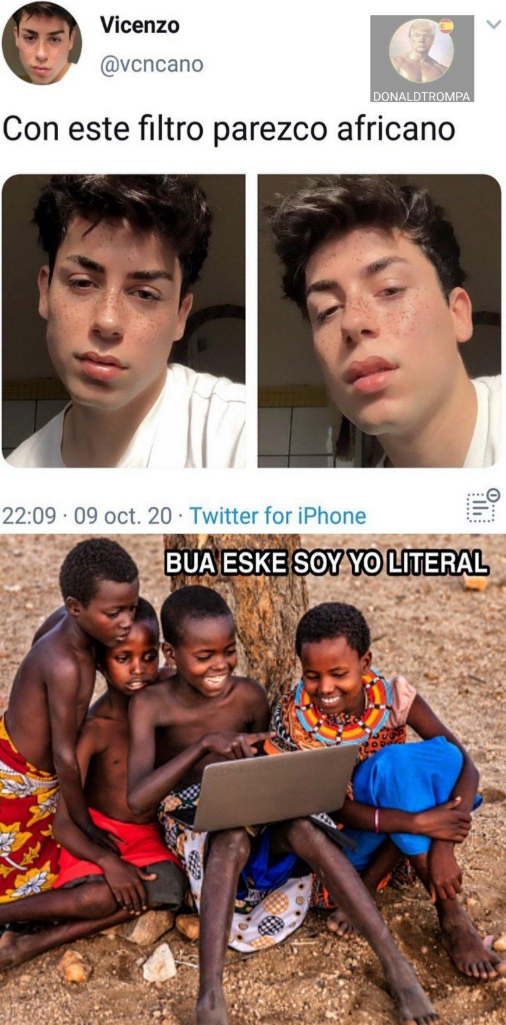 Africano dice... - meme