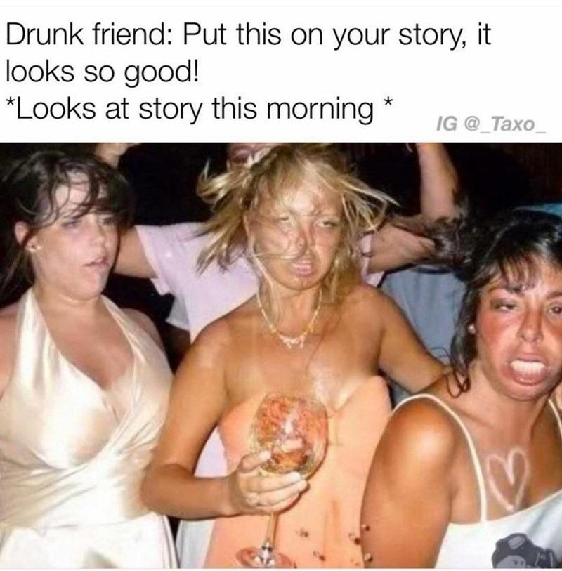 Not the story! - meme