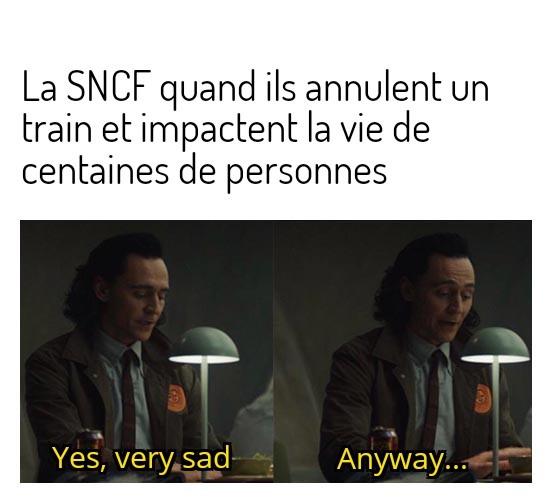 Merci la SNCF - meme