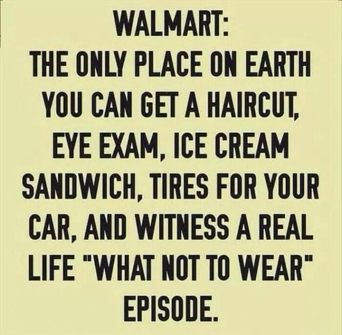 I hate Walmart - meme