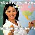 All of my teachers right now
