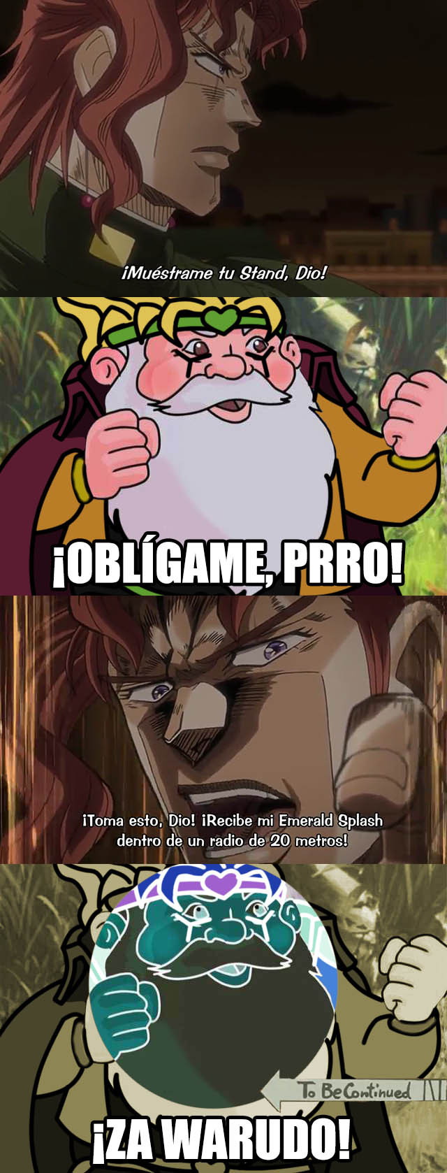 is that a jojo reference? - meme