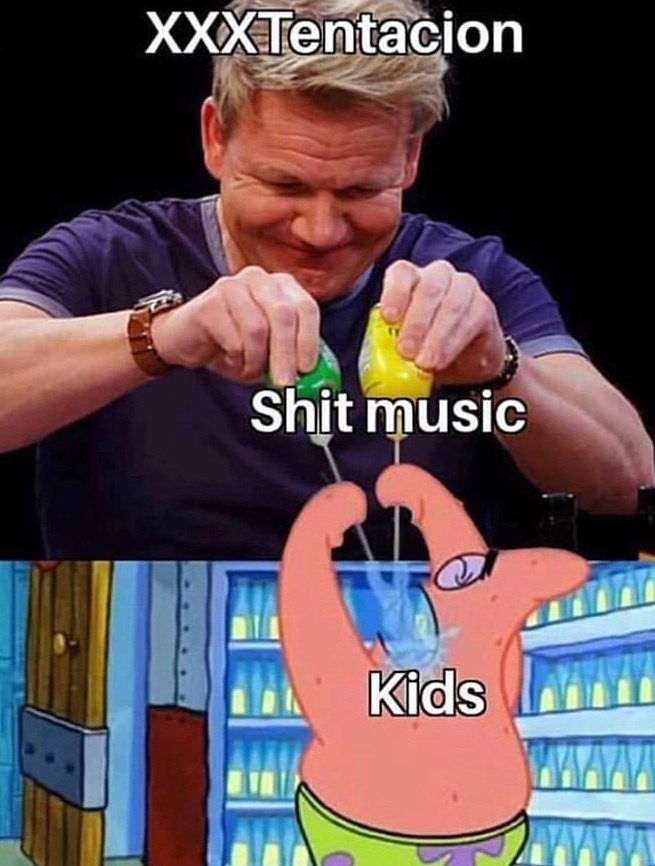 shit music - meme