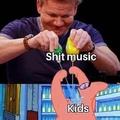 shit music