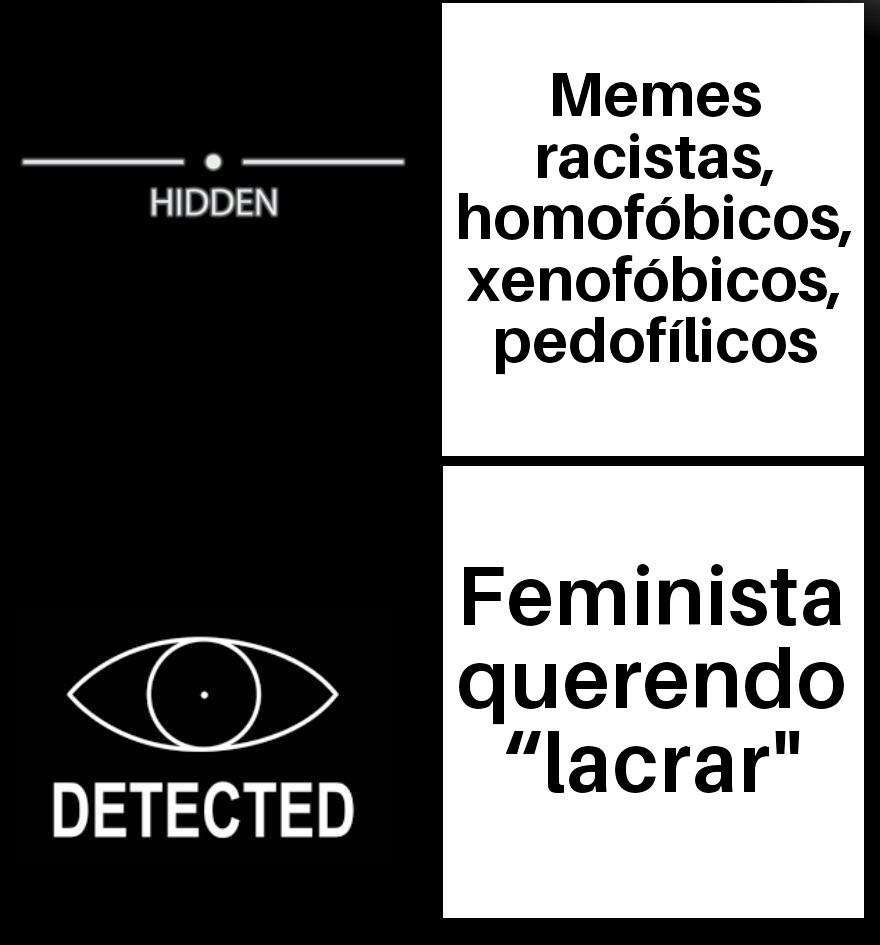 Feminista precisa é de rola - meme