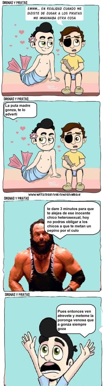 Las Gonza aventuras - meme