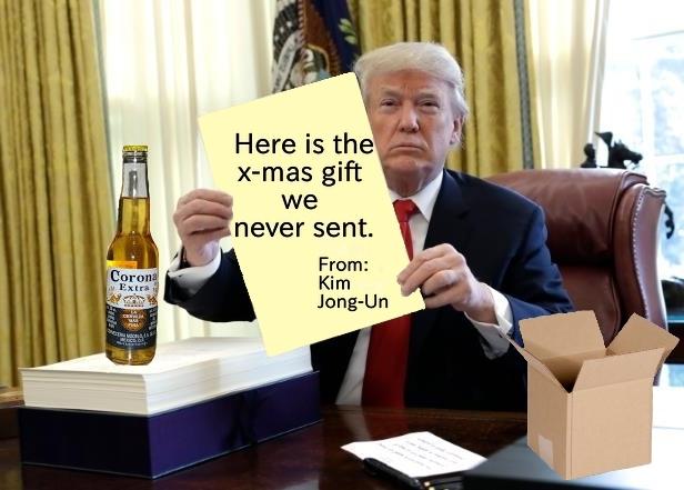 Corona 2 Trump - meme