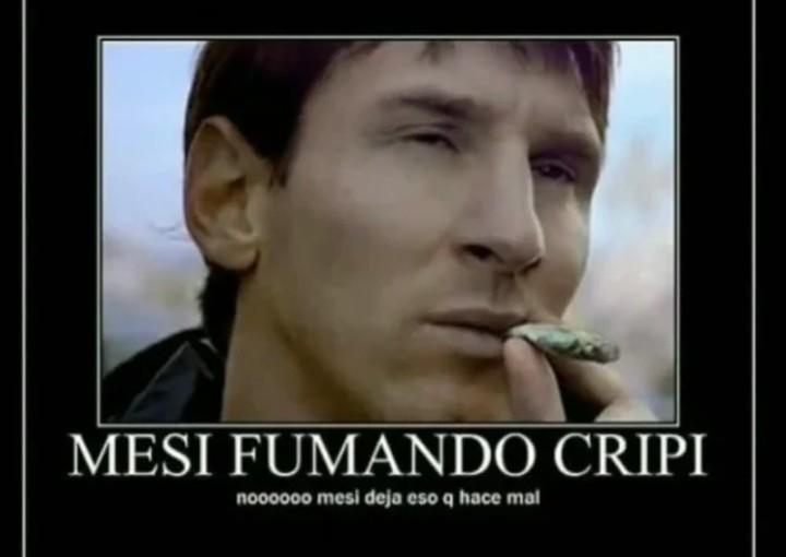Messi NOOOoooOOaoOoOooo - meme