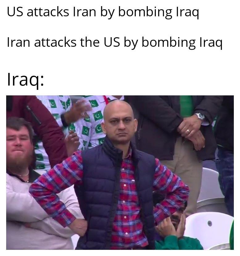 Poor iraq - meme