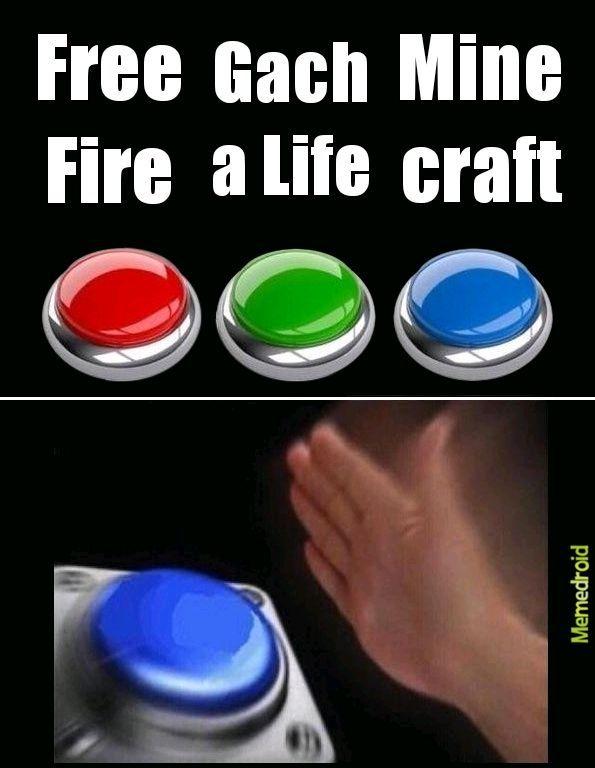 Minecraft le gana - meme