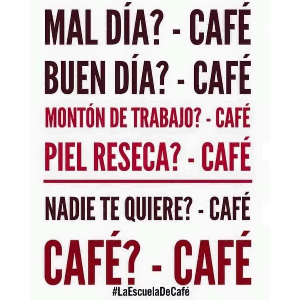 "Sustituye ""cafe"" por lo que mas te gusté 〣( ºΔº )〣 - meme"
