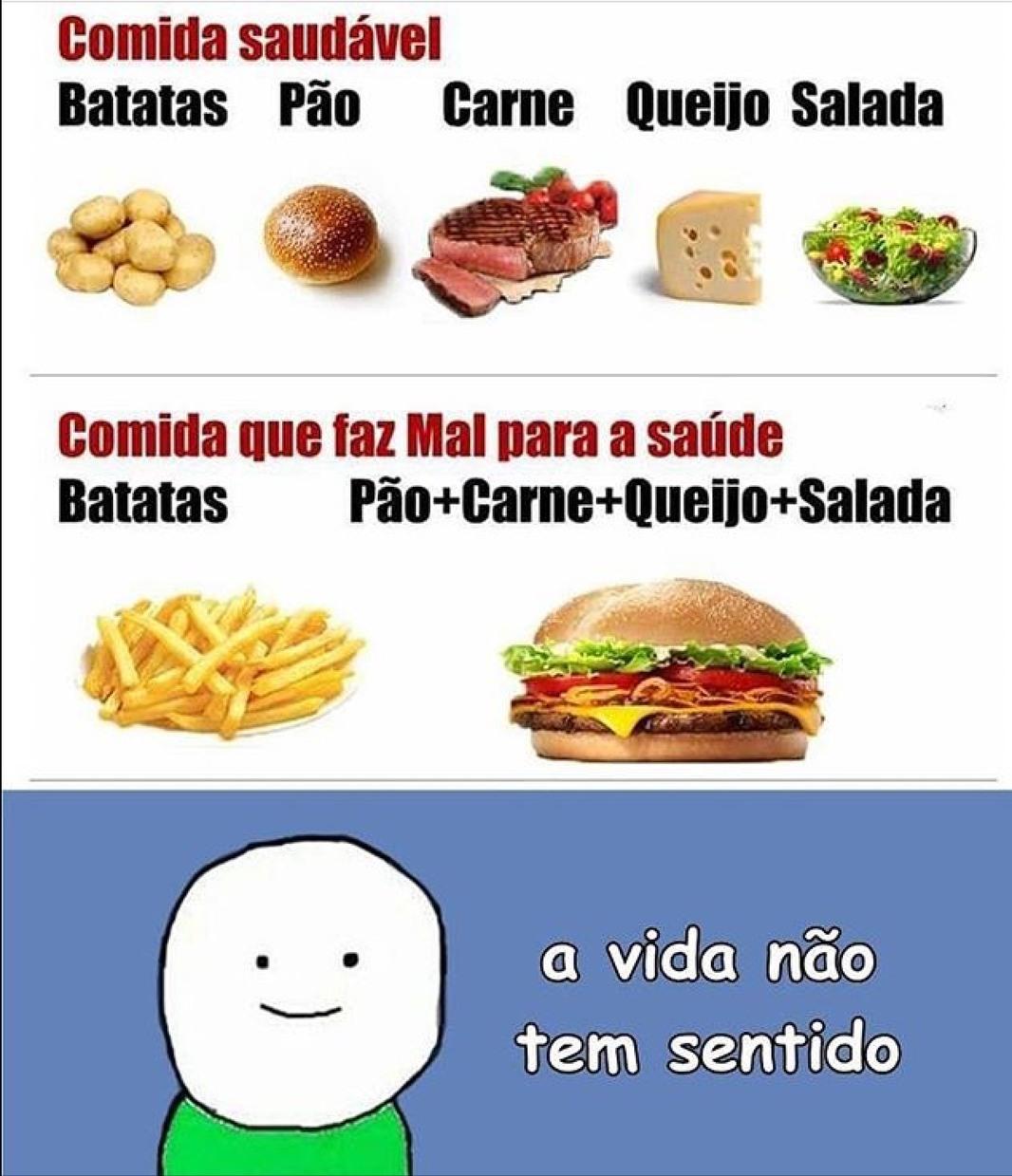 A VIDA NÃO TEM SENTIDO! - meme