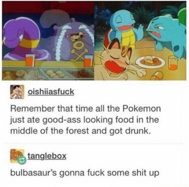 second comment has me for a Pokémon ;) - meme