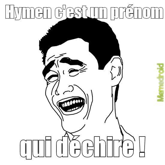 Hymen - meme