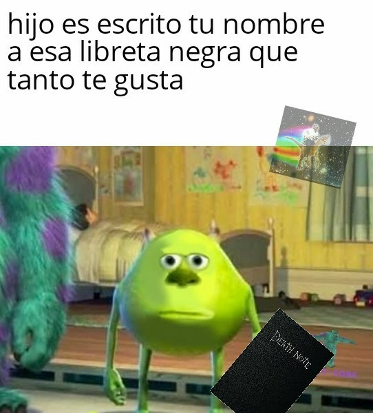 Ese Light es todo un loquillo - meme