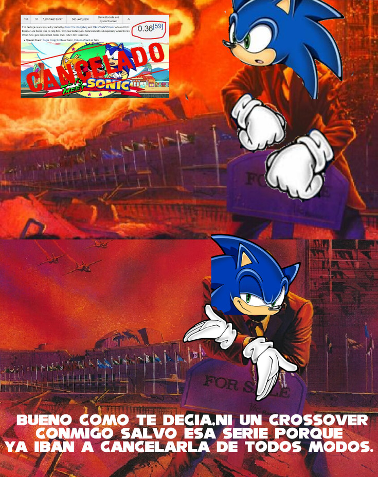 OK ko depende de crossovers o que? - meme