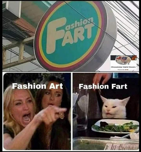 Fashion Fart - meme