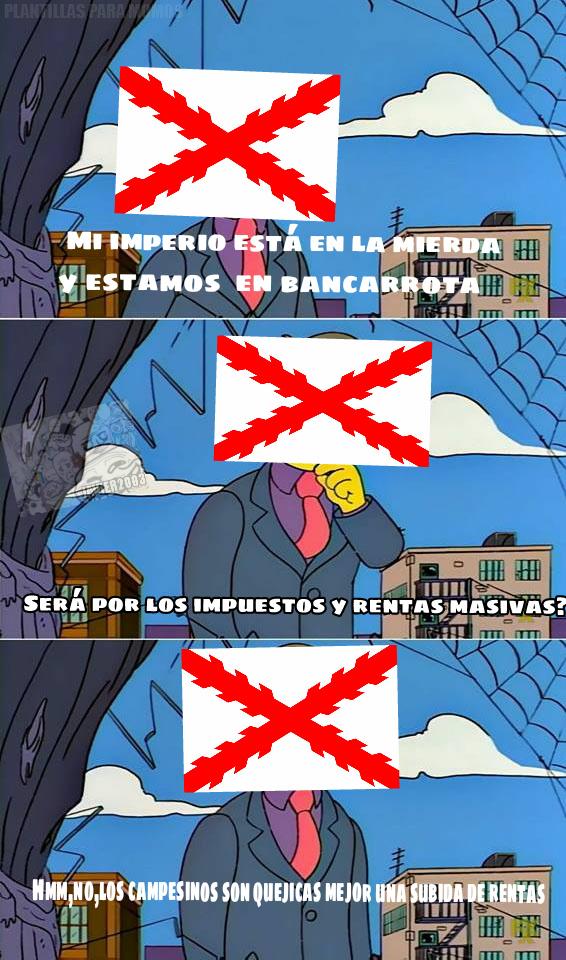 Conflictos del 1640 - meme