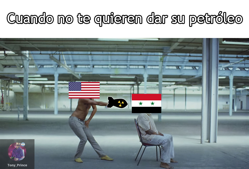 El petróleo - meme