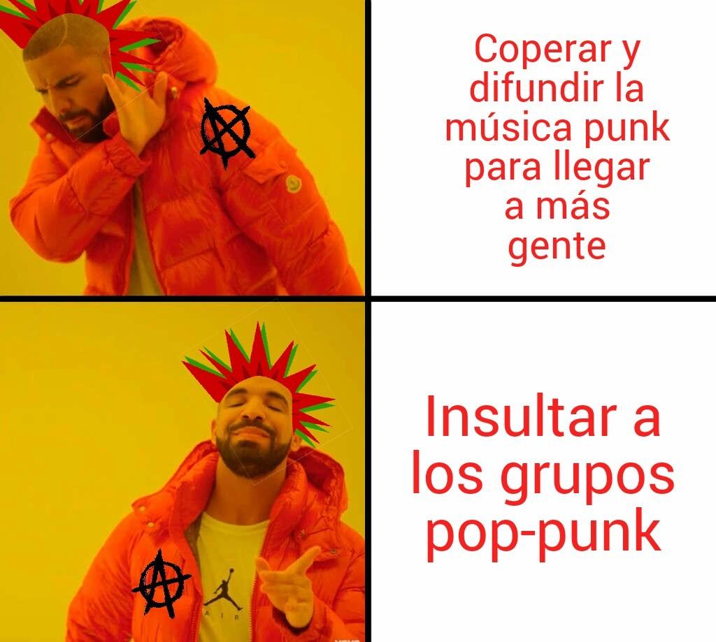 Punks... - meme
