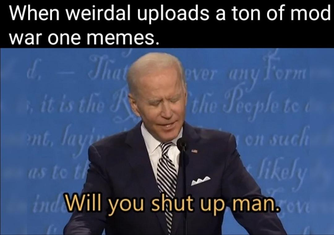 Like seriously dude - meme