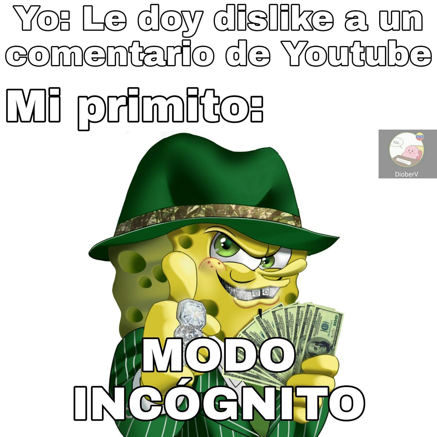 Modo Incognito - meme