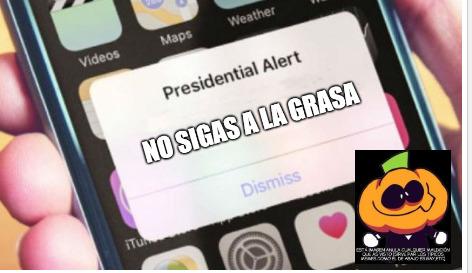 ¡NO LO AGAS NO LOS SIGAS! - meme