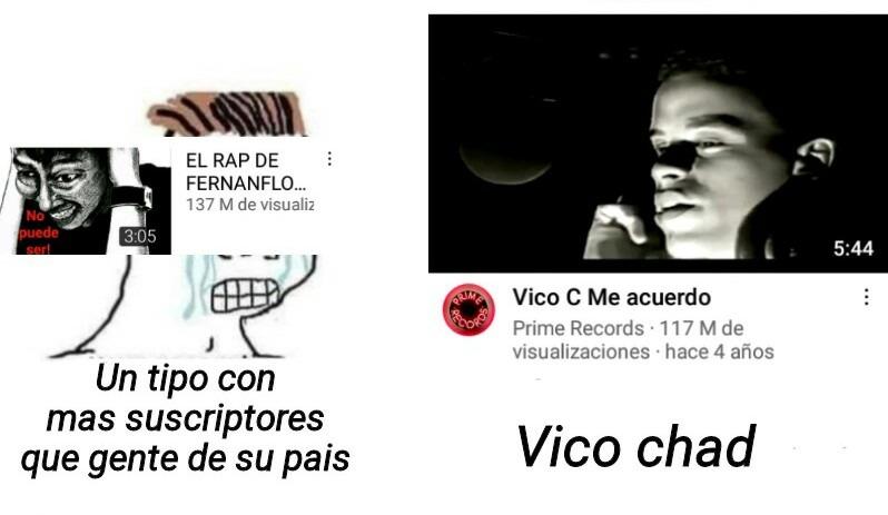 Vico chad - meme