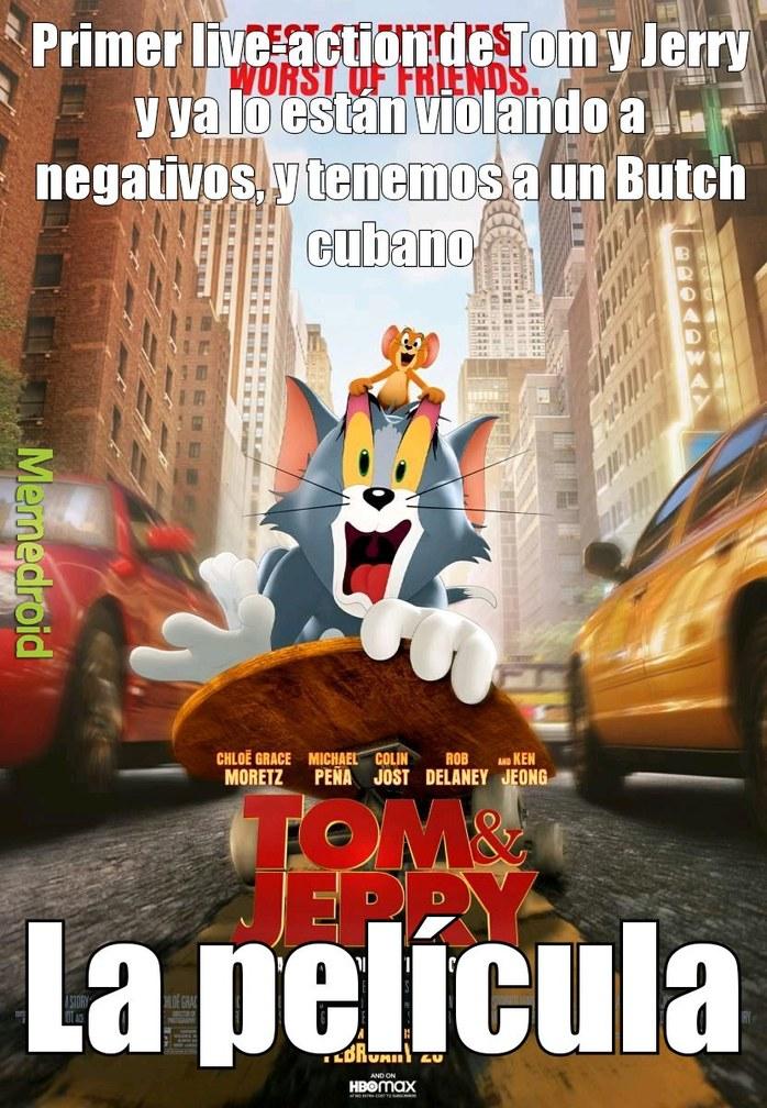 Pobre Tom y Jerry, merecía reconocimiento - meme