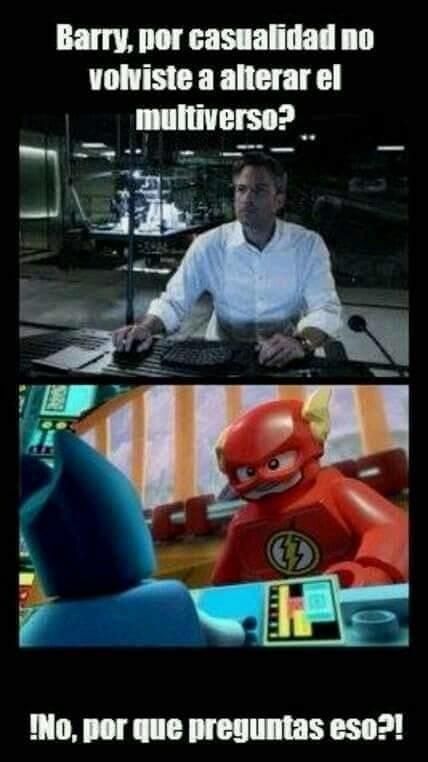 Ese Barry es un loquillo - meme