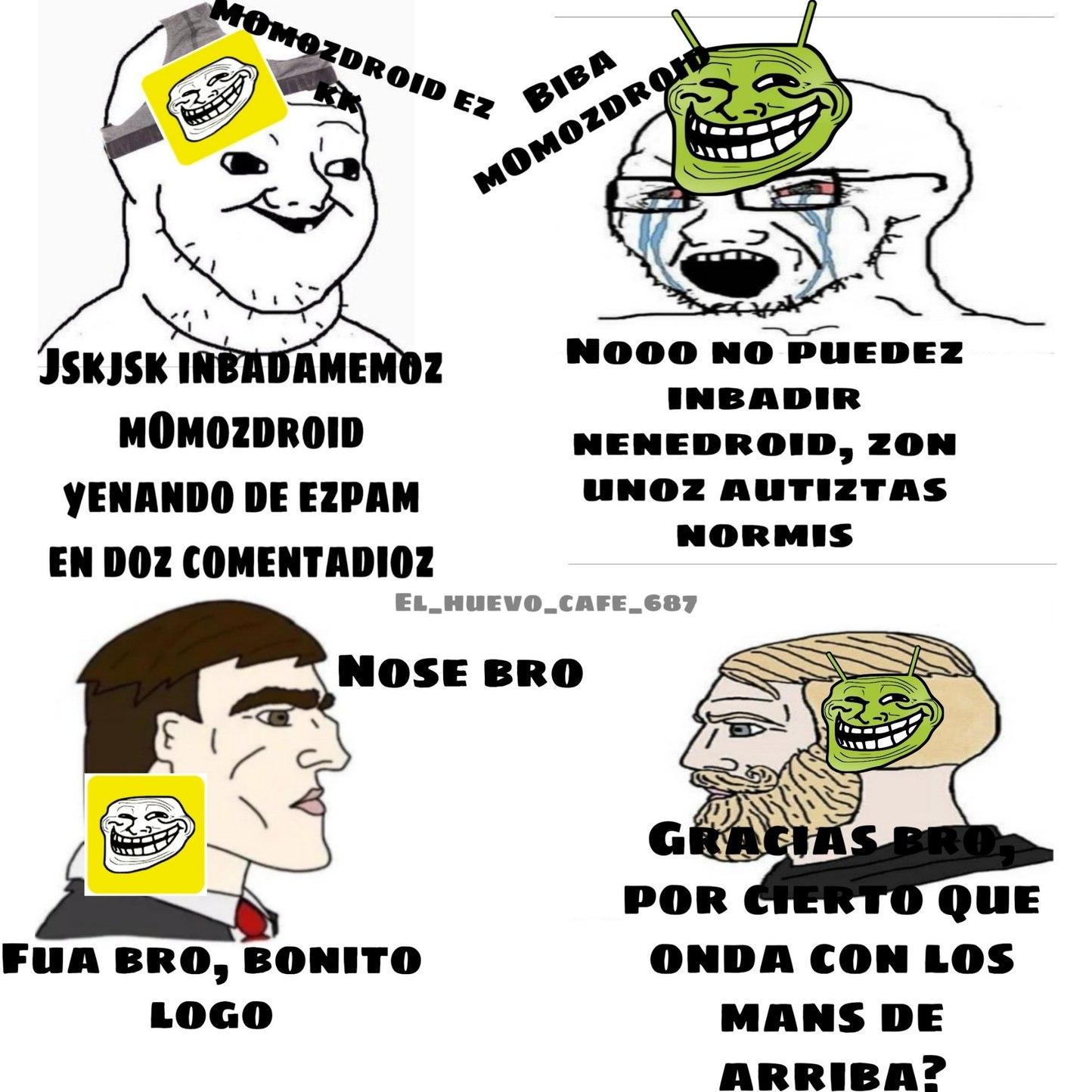Tremenda batalla de autistas :awwyeah: - meme