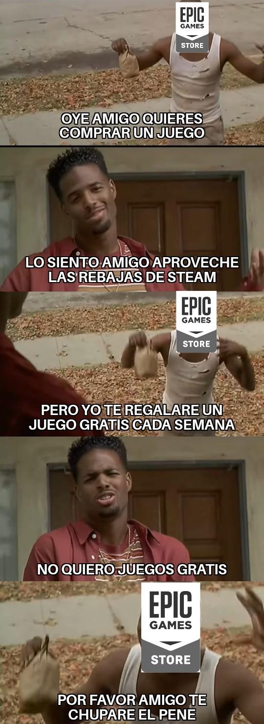 Epic games - meme