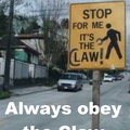 Ignorance of the Claw is no excuse