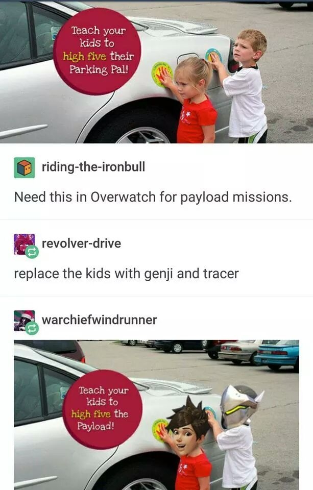 Move the payload - meme