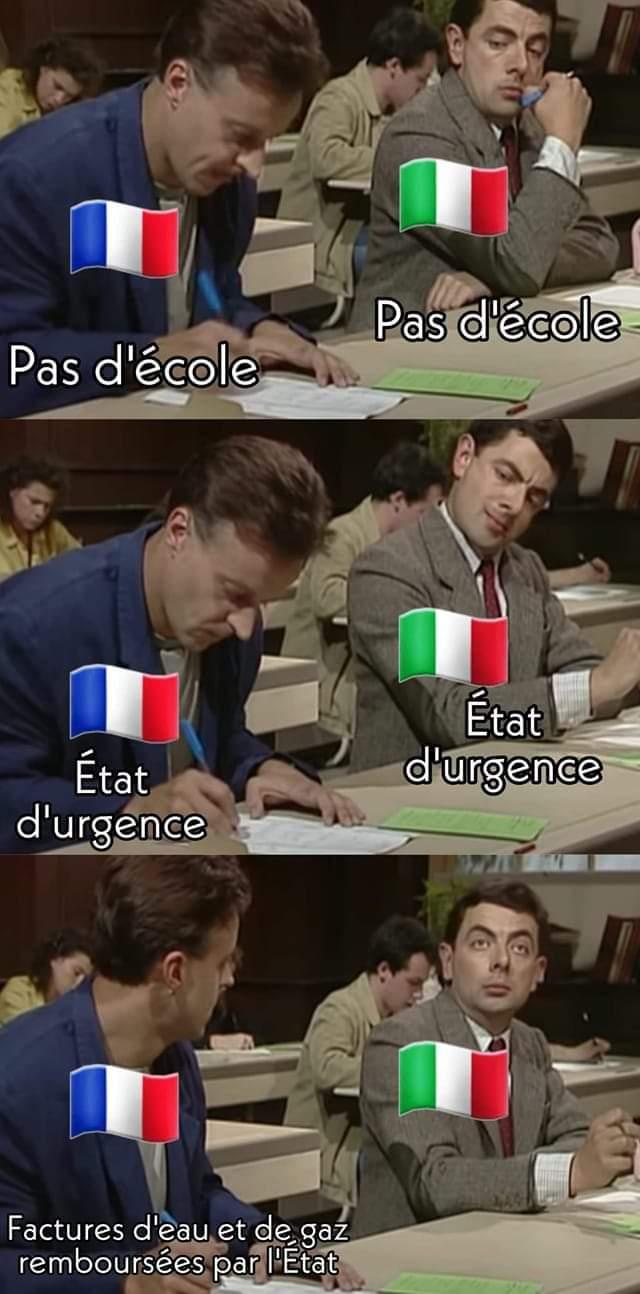 Il fait bon d'être en France - meme