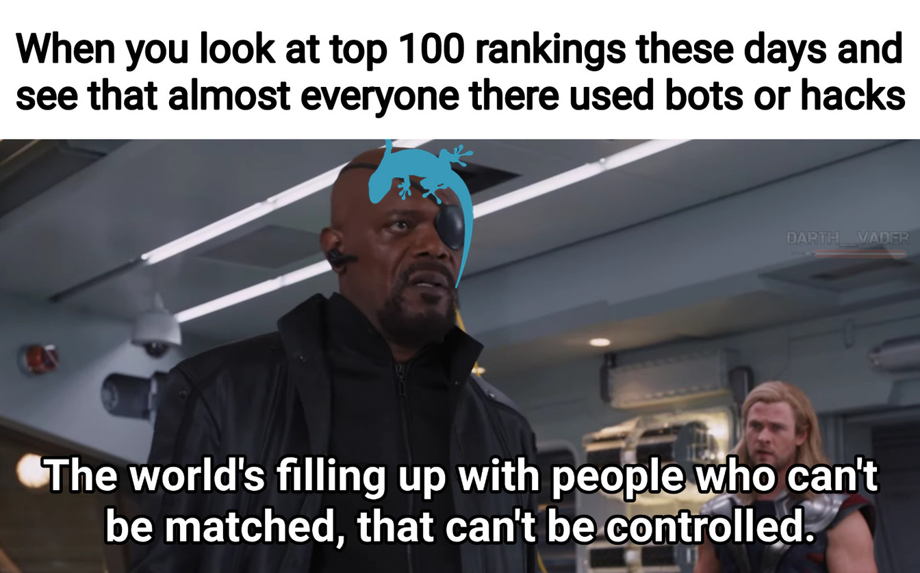 Remember when rank mattered because you actually had to earn it? - meme