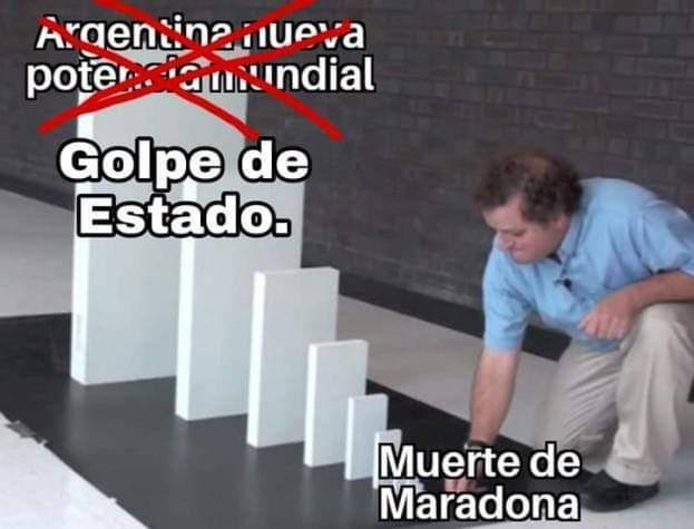 Golpe de estado - meme